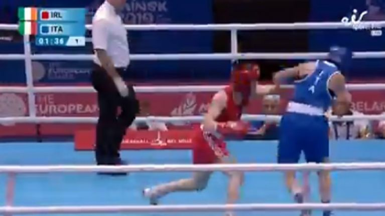 Kellie Harrington guarantees herself a medal with win over Testa