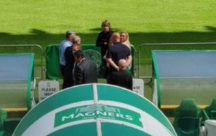 Ireland international spotted at Celtic Park
