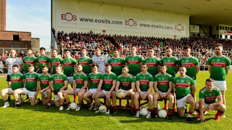 Donal Vaughan returns to Mayo team as Colm Boyle drops out