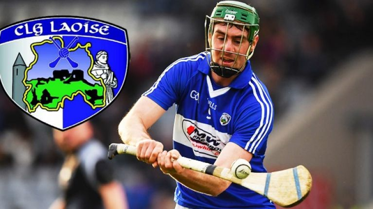 """""""He could just as handy be playing for the Laois footballers"""""""