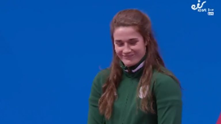 'Representing Ireland it's Grainy Walsh' - Bronze medal announcement mishap
