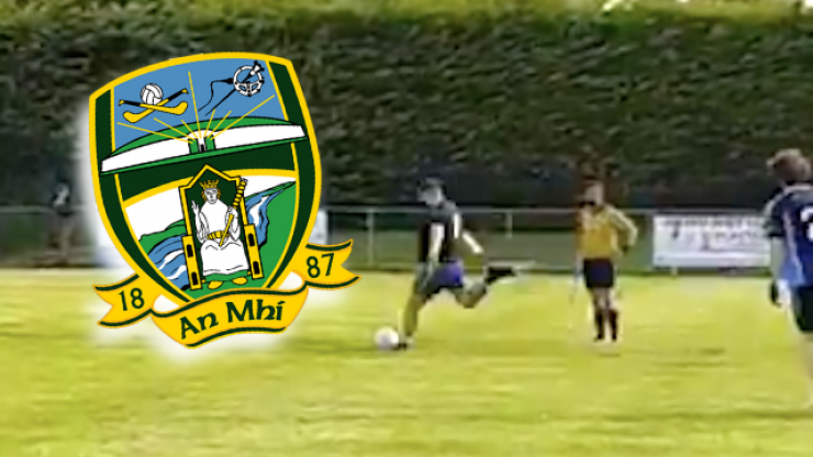 Meath goalkeeper saves penalty and scores peach of a goal in the one game