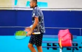 Nick Kyrgios blasts Irish umpire in first-round match at Fever-Tree