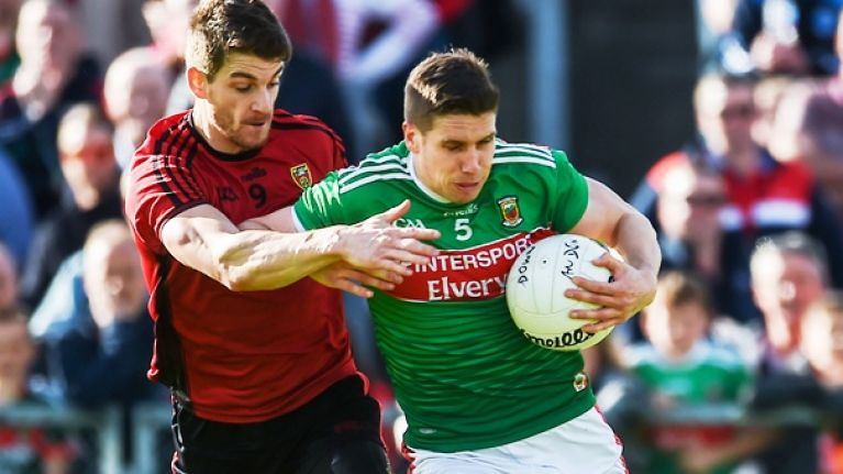 Keegan comes up with a big one again for Mayo when they needed him
