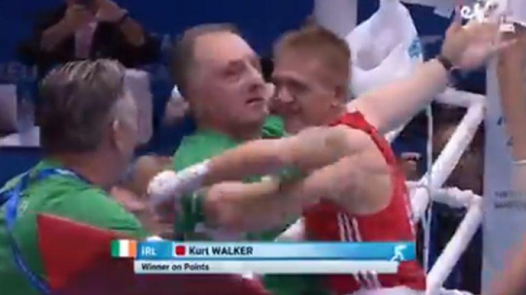 Kurt Walker wins European Gold after clinical win over Butsenko