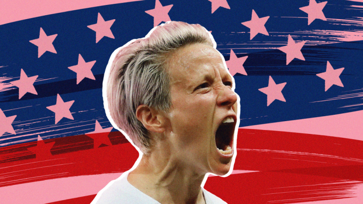 Win or lose, Megan Rapinoe's voice has never been so loud