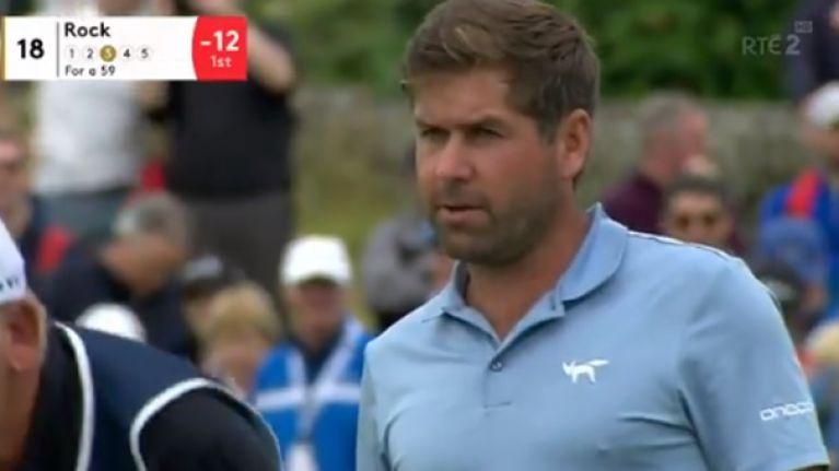 Robert Rock shoots scintillating round of 60 to lead Irish Open