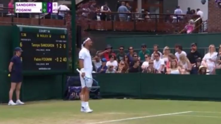 'A bomb should explode here' - Fabio Fognini's strange Wimbledon rant