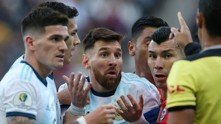 Lionel Messi sounds off on Copa America 'corruption' following red card