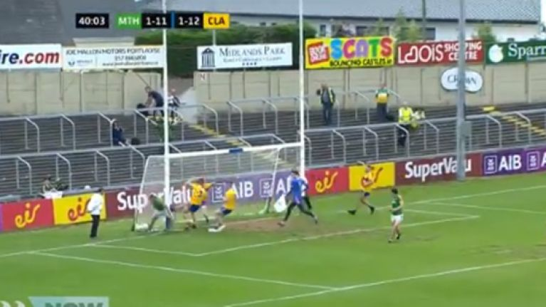 Mickey Newman finishes off fantastic Meath move before he's pushed into the post