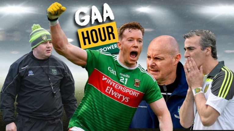 The GAA Hour: Mayo undead, Kevin Walsh future, Peter Harte's black cards