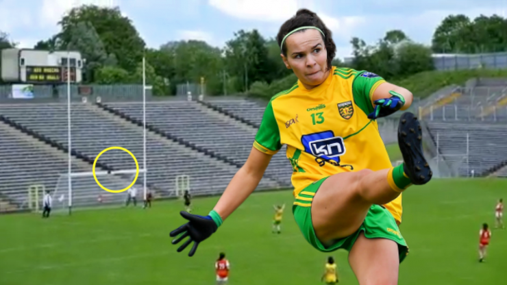 'It was 100% on purpose. That's the type of player Geraldine McLaughlin is'