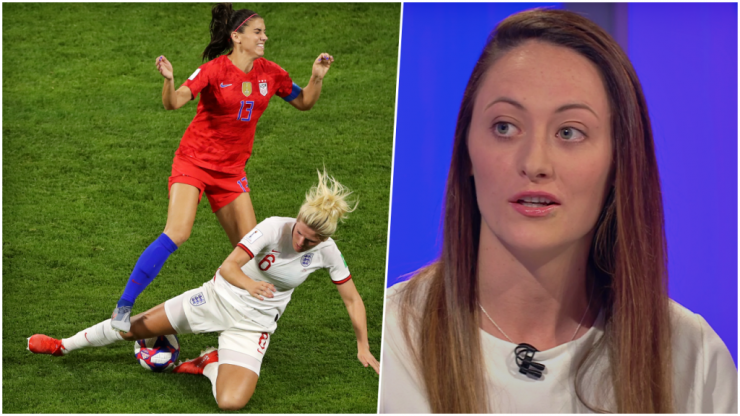 Megan Campbell nailed it with her take on Millie Bright's red card