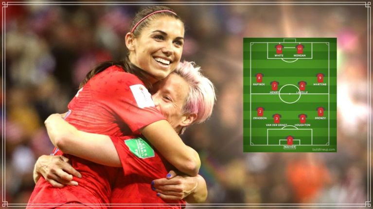 Women's World Cup Best XI features three England stars
