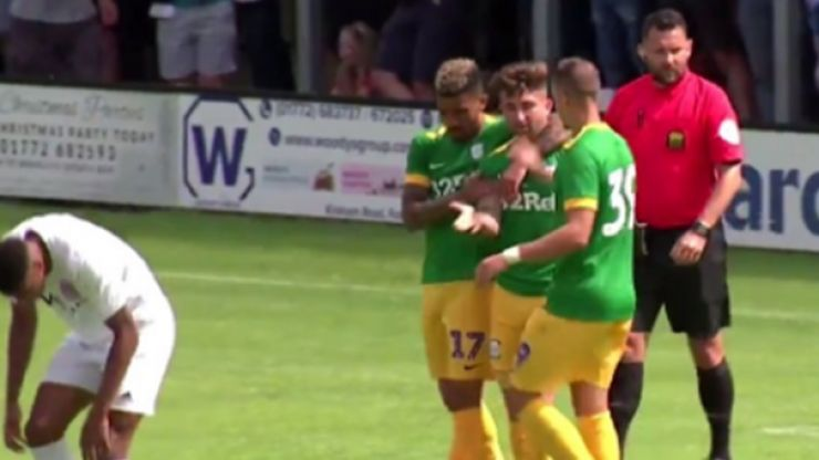 Sean Maguire marks pre-season debut with hat-trick