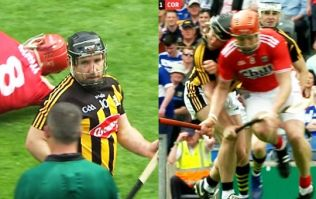 Richie Hogan reaction to ferocious Bill Cooper hit sums up a man hungry for more