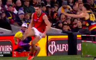 Conor McKenna sends Aussie for a battered sausage and brings solo dummy to AFL