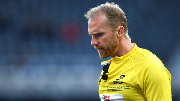Ireland discover Rugby World Cup pool stage referees