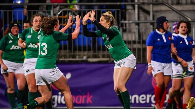 Huge surge in the number of females playing rugby