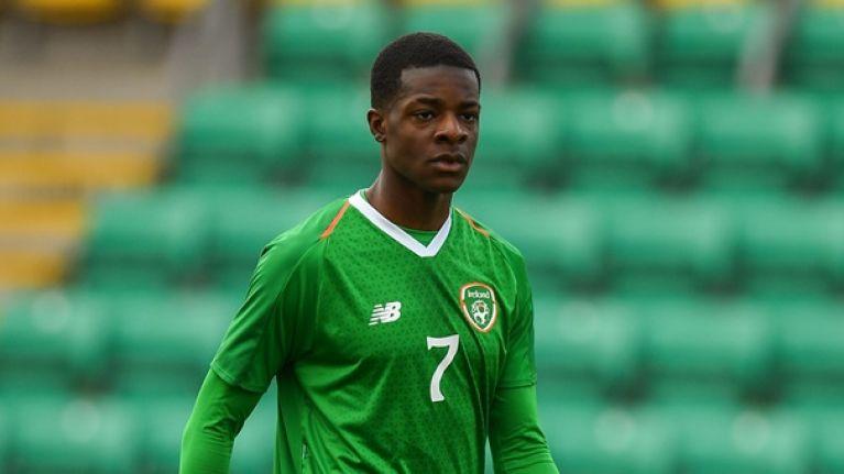 Ireland U17 international turns down offer from Manchester United