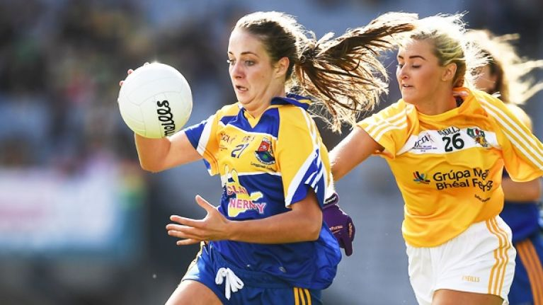 Injury and the odd soccer regret, but Longford's finest is delighted to be back with her first love