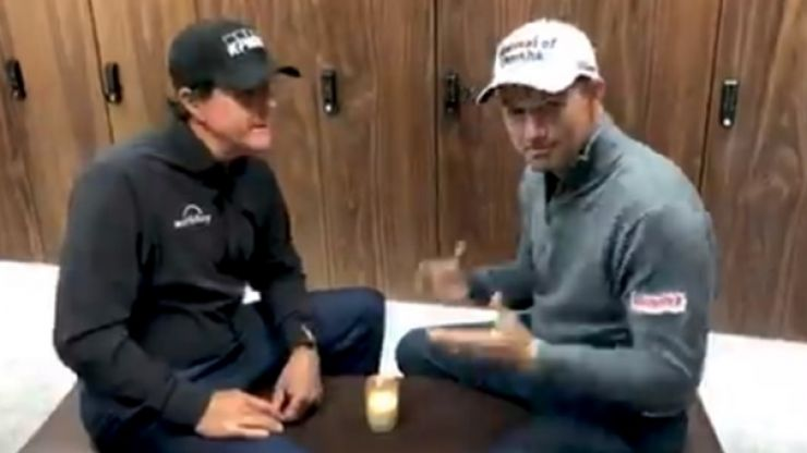 Harrington recalls tale of Mickelson's five-figure tab that he had to pay