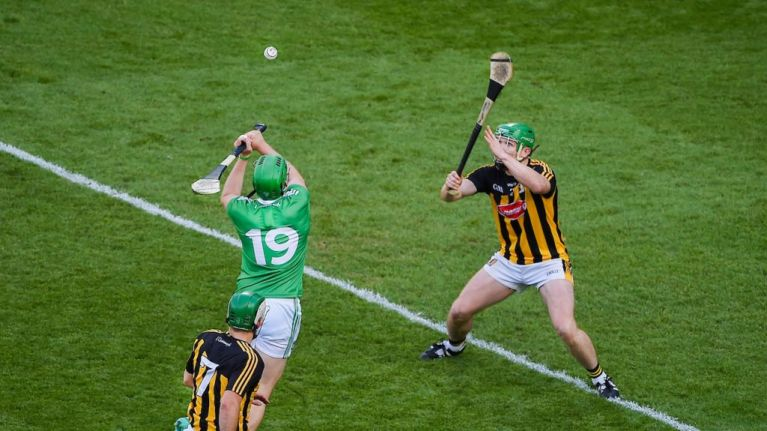 Young hurlers all over Ireland are now practicing 'The Shane Dowling'