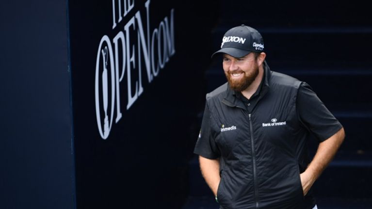 Open leader Shane Lowry hailed by commentator as British