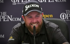 """""""I'd be lying if I said Love Island wasn't on!"""" - Shane Lowry on his Open routine"""