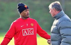 Patrice Evra, Fergie's changing room tirade and hope for football's slow starters