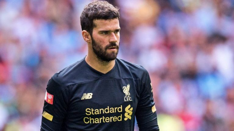 'Alisson pawed at Sterling's shot as convincingly as a new-born kitten patting a ball of string'