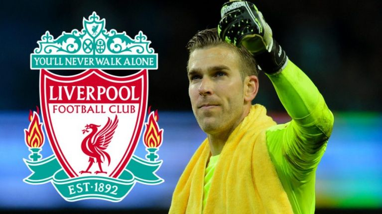 Liverpool sign Adrian as Simon Mignolet returns to Belgium