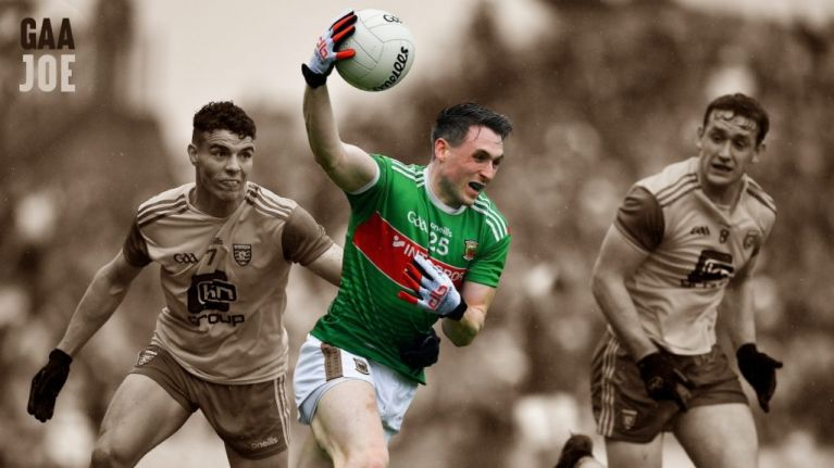 Paddy Durcan proving to be Mayo's number one man to hammer the hammer