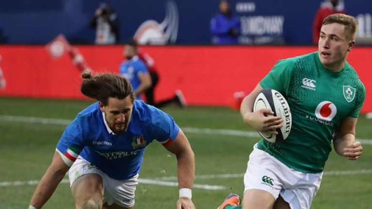Ireland name team to play Italy in World Cup warm-up