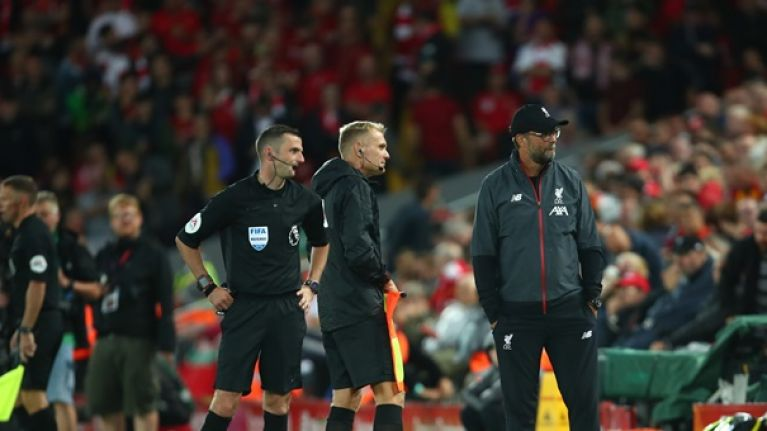Why the second-half at Anfield was delayed