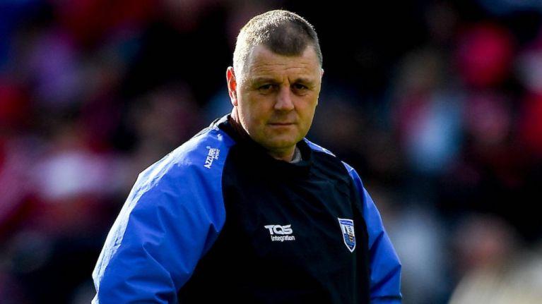 Paraic Fanning steps down as Waterford senior hurling manager