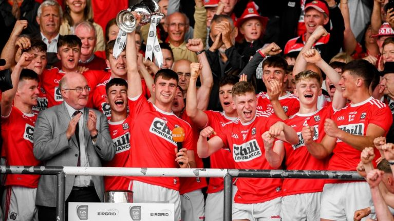 'Hope never dies, and we never stopped hoping' - Cork stun Dubs to claim U20 crown