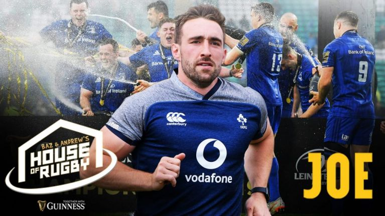 House of Rugby: Jack Conan on GAA-mad upbringing, zoo escapes and CJ Stander