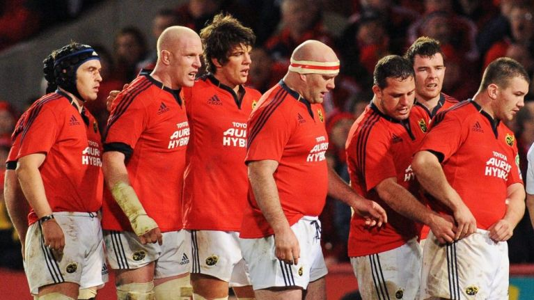 Munster once staged a Last Man Standing event, with a surprise winner