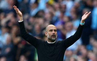 Pep Guardiola reacts to VAR cancelling Manchester City winner