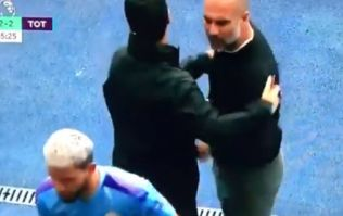 Pep Guardiola explains altercation with Sergio Aguero following substitution