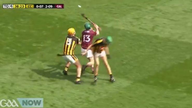 Ruben Davitt puts on an absolute clinic against Kilkenny