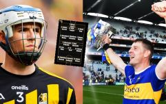 The GAA JOE All-Star hurlers of 2019