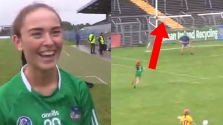 17-year-old with last minute wonder goal as Limerick make it to All-Ireland junior final