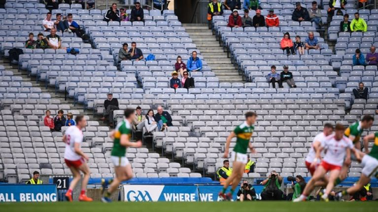 Attendance for Kerry and Tyrone the worst semi of this century