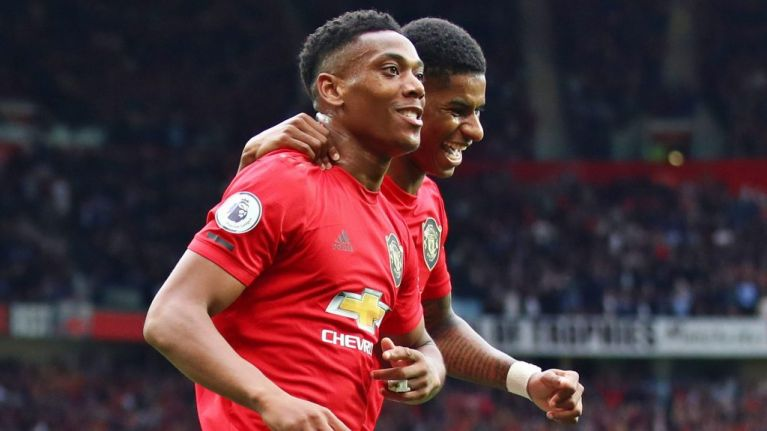 No more waiting in the wings as Anthony Martial finds beauty in ugly goals