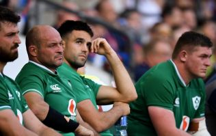 Rory Best: It's hard to describe that without using a lot of profanity