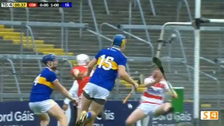 Watch: Tipperary stick four goals past Cork in first eight minutes