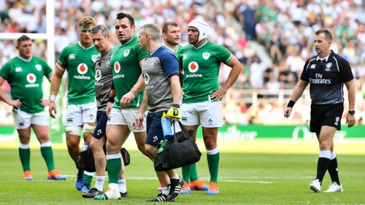 Joe Schmidt provides Cian Healy and Conor Murray injury updates