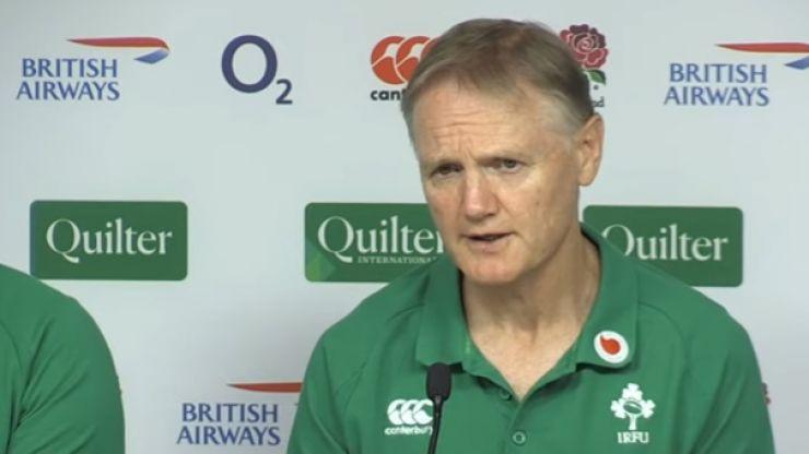 Joe Schmidt names three players that could return against Wales